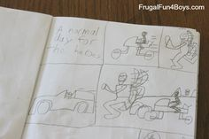 Summer Writing Ideas for Kids - Frugal Fun For Boys