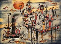 """Luis Gianneo - Obertura para una comedia infantil Pintura: Xul Solar """"Puerto Azul"""" - The music published in our channel is exclusively dedicated . Cobra Art, Max Ernst, Magic Realism, 1920s Art, Harlem Renaissance, Art Database, Wassily Kandinsky, Outsider Art, Famous Artists"""