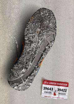London Marathon Poster