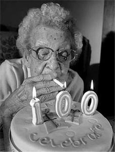 ♥ I want this to be me at 100 LOL