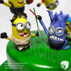 Star Wars Minions Cake Toppers | by The Regali Kitchen