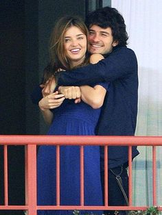Miranda Kerr and Orlando Bloom...so cute!