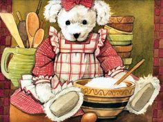 Teddy Bears by Eileen Dineley