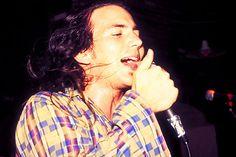 sadejude:  Vedder, July 17, 1991