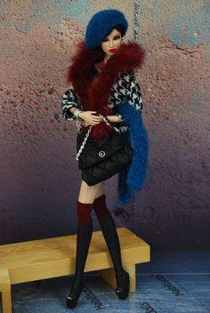 OOAK HABILISDOLLS  OUTFIT for Fashion Royalty FR2, Barbie and similar dolls