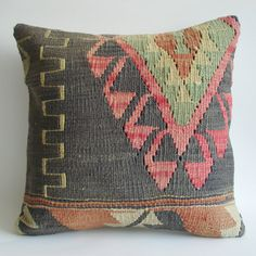%30 SALE Vintage Kilim Pillow Cover  by sukan, $289.95