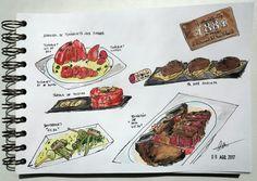 Foodscketching foodscketch food foodies