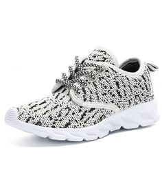 lowest price 325ab 87b81 Casual Breathable Lace-up Running Shoes(Little Kid Big Kid) - Grey -  CM187I4G56D
