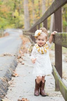 What a stylish little girl! I love her outfit, and how peaceful this picture looks!
