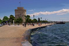 The White Tower of Thessaloniki, Greece by Spectacolor, via Flickr Cultural Capital, Thessaloniki, Macedonia, Places To Visit, Channel, Tower, Europe, Country, City