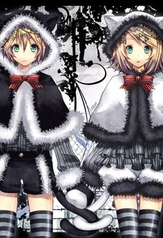 These two! Vocaloid Rin and Len Kagamine  #vocaloid #twins