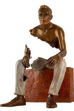 Sculptures, bonzes