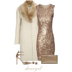 Glitter In The Winter, created by sherryvl on Polyvore