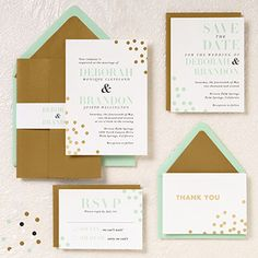Different wedding invitation package ideads