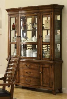 Avery Collection Dining Room Buffet Server In Brown Oak By Coaster Home Furnishings 63509