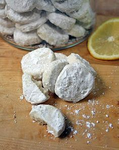 Lemon cooler cookies.... My grandmother always had the store bought box of these and it's probably the reason I love lemon so much.  Thankful for the recipe now!