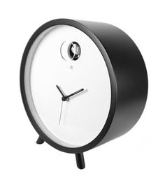 小鳥が飛び出す置時計。 Diamantini & Domenicon plex desk clock - まとめのインテリア / デザイン雑貨とインテリアのまとめ。