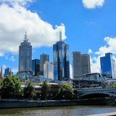 #OldPhotos #Melbourne #Australia #CitySkyline #Y2011
