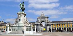 Historic sites: The Stunning Praco Comercio in Lisbon, Portugal attend www.TheWOWConference.com and see more!