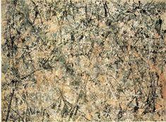 Jackson Pollock, Lavender Mist: Number 1, 1950  Oil on Canvas  National Gallery of Art, Washington, DC