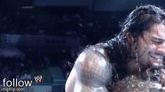I love how it's roman and Dean then Seth is just in the background like I'm okay too #Ambreigns