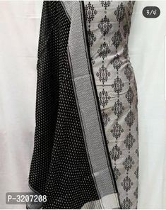 Alluring Chanderi Silk Dress Material With Dupatta by Veenapani - Online shopping for Unstitched Dress Material on MyShopPrime - Designs For Dresses, Classy Outfits, Types Of Fashion Styles, Salwar Kameez, Cotton Dresses, Silk Dress, Trendy Fashion, Clothes For Women, How To Wear