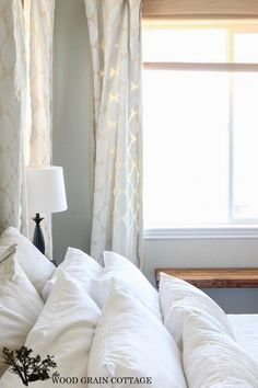 Paint Your Own Curtains! Full tutorial by The Wood Grain Cottage-6929