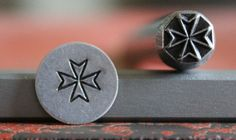 Manufactured in the USA, these metal stamps will make a lasting impression on your jewelry. These professional quality stamps are manufactured to the highest standard for durability and alignment. Designs are made from 01 tool steel and then hardened to last project after project.   Tool Size: .375 inch  Impression Size: 7mm  Quantity Included: 1 Stamp