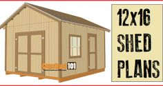 Shed plans step-by-step free PDF download.