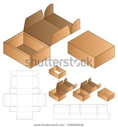 ค้นหาภาพสต็อก Box Packaging Die Cut Template Design ระดับ HD และภาพสต็อก ภาพประกอบ และเวกเตอร์ปลอดค่าลิขสิทธิ์หลายล้านรายการในคอลเลกชัน Shutterstock มีภาพใหม่คุณภาพสูงหลายพันรายการเพิ่มเข้ามาทุกวัน Box Packaging Templates, Food Box Packaging, Craft Packaging, Packaging Design, Bag Packaging, Die Cut Boxes, Logo Restaurant, Vintage Labels, Banner Template