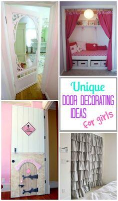 Cool Bedroom Door Decorating Ideas