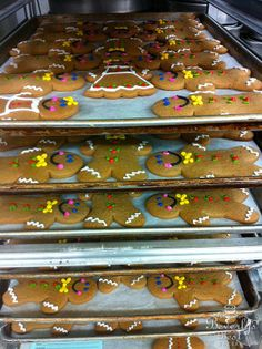 Gingerbread Cookies by Beverly's Best Bakery, don't they look delicious?
