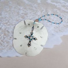 Arrowhead Sand Dollar Ornament  Christmas by CoastalGlamour, $17.00