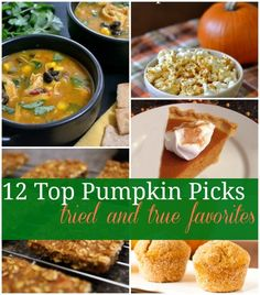 Ever try a recipe that is a total Pinterest FAIL? Me too. That's why I created this list of my favorite pumpkin recipes. I promise these recipes will not fail you. I've tried every single one and they are the best of the best!