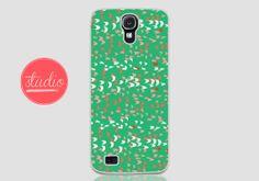 SEAFOAM CONFETTI SHAPES - Samsung Galaxy s4, Galaxy s3