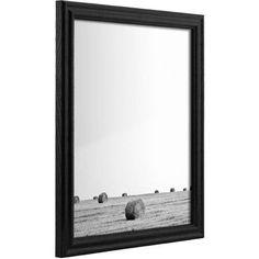 Craig Frames Biltmore Ash Traditional Black Hardwood Picture Frame