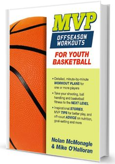 This is the basketball offseason training guide for basketball players. Players have their choice of a twice a week program for 9 weeks or 3X per week for 6 weeks.  Each workout includes an inspirational story to begin and then a 66 minutes workout to get you ready for the baseball season ahead. Plus, theres some general tips on nutrition, conditioning and working with coaches. Much like the pros, most gains by players are made during the offseason.  Players can workout near their home at a ... Basketball Practice Plans, Basketball Awards, Basketball Games For Kids, Basketball Tricks, Basketball Is Life, Basketball Workouts, Basketball Skills, Basketball Players, Basketball Wives