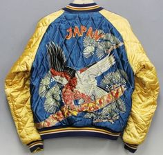 Vintage-Tailor-Toyo-Hawk-Eagle-Bird-Dragon-Japan-Map-Souvenir-Sukajan-Jacket