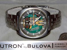 Bulova Accutron Spaceview. Stainless Steel.