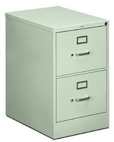 HON 2-Drawer Filing Cabinet - 510 Series Full-Suspension Legal File 2 Drawer File Cabinet, Full Suspension, Cabinets, Drawers, Storage, Top, Furniture, Home Decor, Ideas