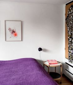 Purple. Photo by Pernille Kaalund for Bolig Magasinet