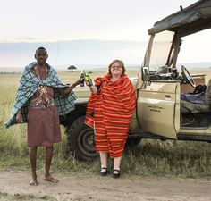 Sundowners in the Masai Mara