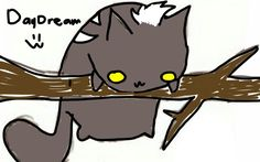 DayDream as a kitty cat :3