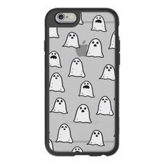 iPhone 6 Plus/6/5/5s/5c Case - Ghosts on Clear (€35) ❤ liked on Polyvore featuring accessories, tech accessories en iphone case