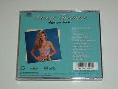 Lorena Tassinari Algo Que Decir CD 1992 Tvnovela Muchachitas Thalia Lucia Mendez | eBay