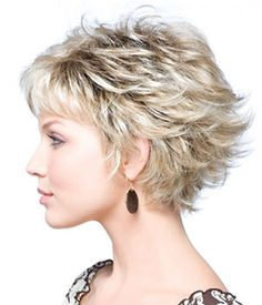 "MASON by Noriko | Noriko Wigs & Hairpieces by Wilshire Wigs  Short layered wig that can be flipped in back. Hair Lengths: 3"" bangs, 3"" crown, 3"" nape."