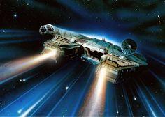 Millennium Falcon by Brian Rood