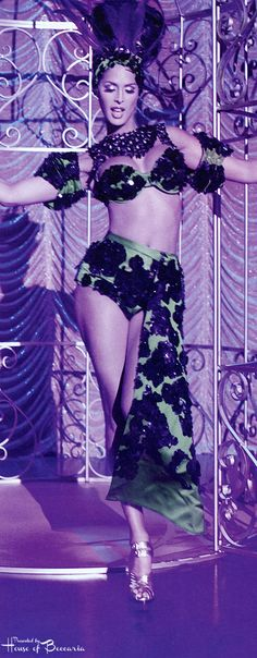 "~Carmen Carrera Has A ""Showgirl"" inspired editorial 