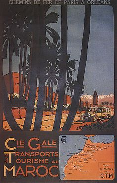 Cie gale transport tourism all the morocco by ctm travel vintage poster repro Morocco Tourism, Morocco Travel, Africa Travel, Madagascar Travel, Art Nouveau Poster, Tourism Poster, Travel And Tourism, Vintage Travel Posters, North Africa