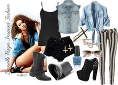 Danielle Peazer Inspired Fashion...looks a little bit like Perrie too :) x